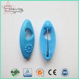 Heißer Verkauf bunte ovale HauptHijab Plastikstifte für Dekoration