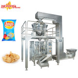 Automatische Lagen-Kartoffelchip-Chipslette-Imbiss-Plastikbeutel-Verpackungsmaschine