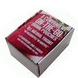 주문을 받아서 만들어진 크기와 디자인 딸기 상자