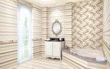 Baldosa cerámica superficial esmaltada brillante del nuevo diseño para la pared y el suelo del cuarto de baño