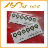 Rh 5% - 10% - 15% 습도 표시기 카드 색깔 변화 스티커