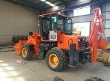 De nieuwe MinidieBackhoe Tractor van de Lader in China wordt gemaakt