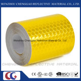 Band van de Opmerkelijkheid van de Waarschuwing van de Veiligheid van de honingraat de Gele 3m Weerspiegelende (c3500-OXY)