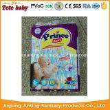 Tecidos descartáveis do bebê do tipo do OEM da fábrica de Fujian China para o mercado de África