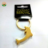 Supermarket를 위한 아연 Alloy Metal Animal Shape Metal Keychain