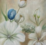 Красивые тачки цветочный живопись - Репродукции картин на стене