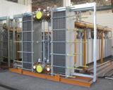 冷水および海水のための版そしてフレームの熱交換器