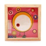 ビードの当惑の振動のゲームのおもちゃを学ぶ木の子供の教育バランス