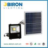 luz de inundación solar impermeable al aire libre de 30W IP65 LED
