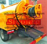 10 tonnellate della fogna di pulizia delle acque luride di camion di aspirazione con la trivellazione a getto ad alta pressione