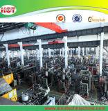 Machine automatique de soufflage de corps creux d'extrusion de bouteille de HDPE du plastique 5L