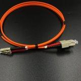 La fibra óptica Cable de fibra óptica dúplex en Red de acceso y red de comunicación