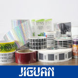 Impressão colorida papel removível Etiqueta para tubos de ensaio