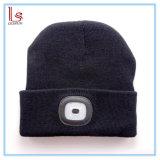 가장 새로운 모자 USB 재충전용 LED 베레모 도매