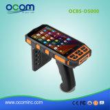 Terminale mobile tenuto in mano Android del calcolatore pratico industriale robusto
