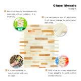 Tegel van het Mozaïek van het Gebrandschilderd glas van de Grens van de Vloer van China de In het groot Decoratieve