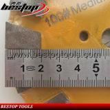 5inch 125mm 100# 모래 매체 유대 훅과 루프 역행 다이아몬드 구체적인 가는 디스크