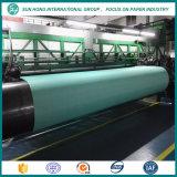 100% de poliéster formando os fornecedores de tecido na máquina de papel