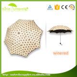 Guarda-chuva esperto do tamanho Pocket de 3 dobras para senhoras