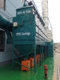 Dhc 48 appareillages de matériel de collecteur de poussière de filtre de cartouche de basse pression