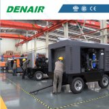 865 Cfm水冷却のディーゼル機関移動式ねじ空気圧縮機