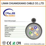 Câble LAN du réseau FTP Cat5e en extérieur avec Messenger