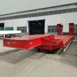 De Op zwaar werk berekende Vrachtwagen van China Oplegger van het Bed van 50 Ton de Lage