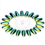Glänzender Chrom-Spiegel-Acrylchamäleon-Nagel-Kunst-Maniküre-Pigment