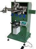Maquinaria curvada da impressora da tela