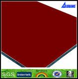 PVDF y decorativa de plástico Compuesto de Aluminio Paneles de pared