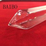 Sharp-Nosed claro del tubo de cristal de cuarzo.