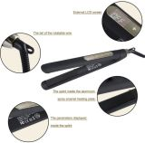 Clouded Electronic Ceramic Black Flat Iron (V185)