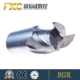 Moinhos de extremidade do diamante do carboneto de tungstênio da ferramenta de estaca do CNC com Roughing
