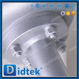Didtek laminou o tipo válvula da bolacha do selo do disco de borboleta longa da extensão