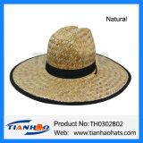 Sombrero de Sun del hombre del vaquero de la paja de Nutural del sombrero para la promoción