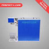 máquina de la marca del laser de la fibra de las piezas de metal de 10W 20W 30W 50W