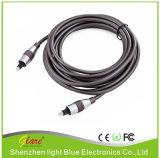 Cavo a fibra ottica di Digitahi Spdif HD DVD audio Toslink di alta qualità