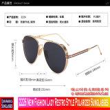 Madame neuve Restro Style Polarized Sunglasses de la mode 2226