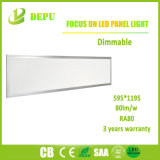 Luz del panel montada superficial al por mayor de SMD2835 Dimmable LED 60W 600*1200 80lm/W con el Ce, TUV, SAA