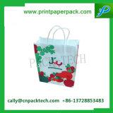 Sacchetto di acquisto su ordinazione della carta kraft del sacchetto dell'imballaggio del regalo del sacchetto