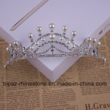 2018の最も新しいカスタマイズされた水晶王冠の結婚式のガラスStonneのクリスマスのギフトのティアラの花嫁の王冠(BC06)