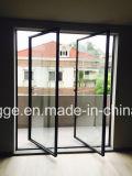 Двери складчатости алюминиевого сплава сбор винограда
