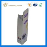 Custom высокое качество печати в сложенном виде зубная паста бумаги ящики (голографических серебристый картон)