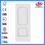 HDF/MDF Puerta de madera blanca natural de la piel (JHK-S07)
