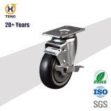 4 인치 산업 폴리우레탄 바퀴 피마자