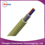 1.15~1.65mm una fibra saltata aria Uint di 2~12 memorie per FTTH