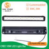 방수 크리 사람 LED 표시등 막대 120W는 Offroad 플러드 반점 결합 광속을%s 줄을 골라낸다