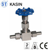 Stainless Steel NPT Female/mark Thread 3000-6000 psi Needle valve
