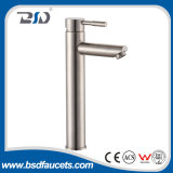 Nickel de mélangeur de robinet de bassin de Basin&Vessel de l'acier inoxydable SUS304 balayé