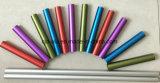 Pipe A6063 en aluminium de anodisation colorée pour les accessoires à la maison de demandeur